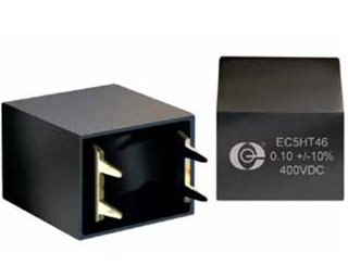 resonant circuit film capacitor, High temperature film capacitor, 175C capacitor