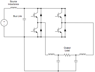 Single Phase DC to AC Voltage Inverter